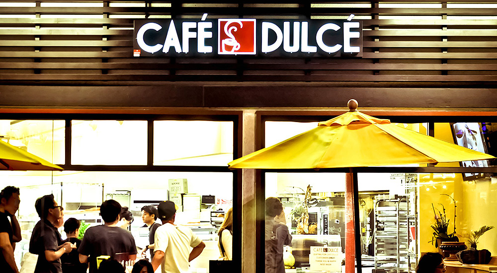 Cafe Dulce in LA's Little Tokyo Neighborhood